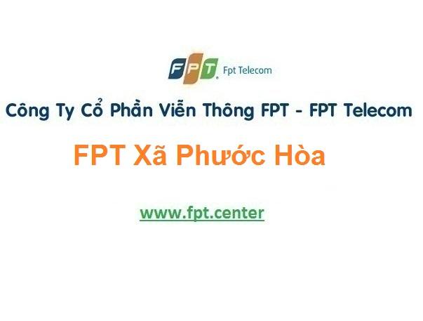 Lắp Đặt Mạng Fpt Xã Phước Hòa Ở Tuy Phước Bình Định