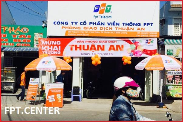 Internet FPT Thị Xã Thuận An Bình Dương