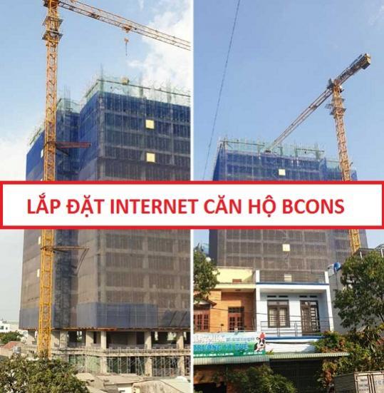 Lắp đặt internet Căn hộ Bcons Miền Đông