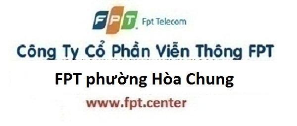 Lắp mạng internet FPT phường Hòa Chung thành phố Cao Bằng