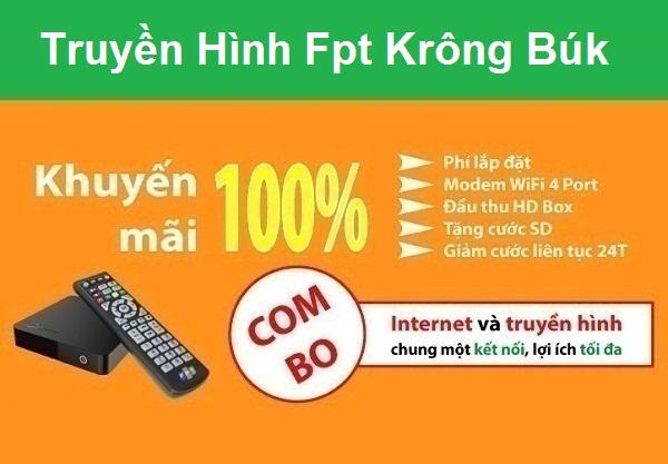 Đăng ký truyền hình fpt huyện Krông Búk