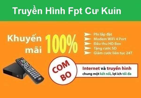 Đăng ký truyền hình Fpt huyện Cư Kuin