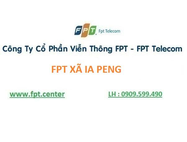 Lắp internet fpt xã Ia Peng