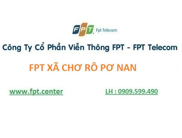 Lắp mạng wifi fpt xã Chrôh Pơnan