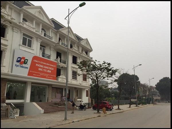 Phòng giao dịch FPT Bắc Từ Liêm chi nhánh thành phố Giao Lưu