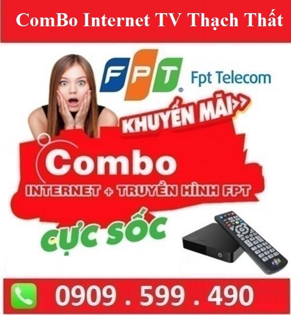Gói Combo Internet Truyền Hình FPT Huyện Thạch Thất Hà Nội