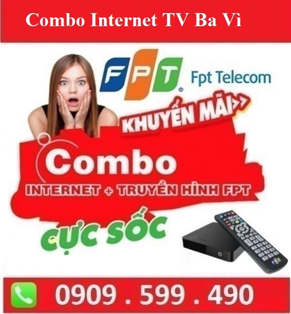 Gói Combo Internet Truyền Hình FPT Huyện Ba Vì Hà Nội