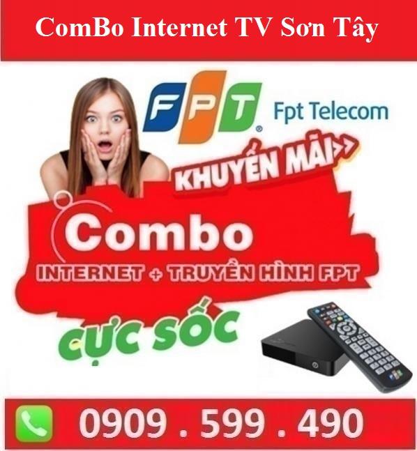 Gói Combo Internet Truyền Hình FPT Thị Xã Sơn Tây Hà Nội