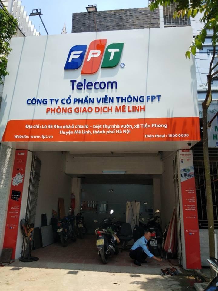 Văn Phòng Giao Dịch FPT Huyện Mê Linh Tại Lô 35 khu nhà ở chia lô