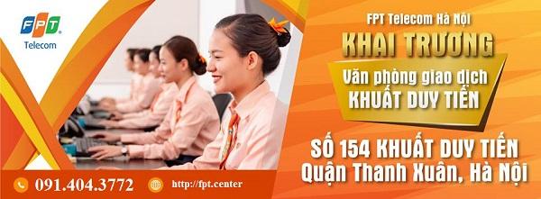 Phòng Giao Dịch FPT Quận Thanh Xuân Chi Nhánh 154 Khuất Duy Tiến