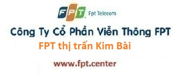 Lắp đặt mạng internet cáp quang FPT thị trấn Kim Bài tại Thanh Oai