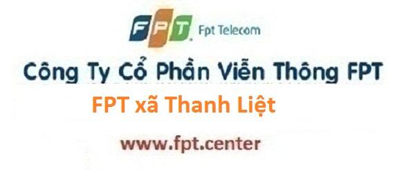 Lắp mạng internet FPT xã Thanh Liệt huyện Thanh Trì Hà Nội