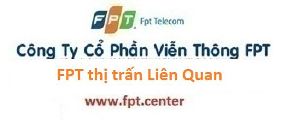 Lắp đặt internet FPT thị trấn Liên Quan huyện Thạch Thất Hà Nội năm 2016