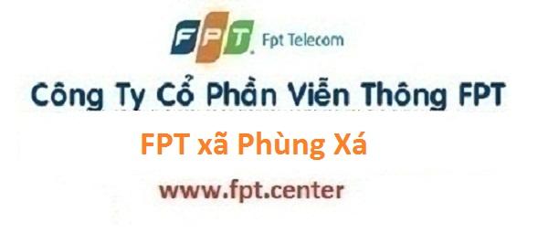 Lắp internet FPT xã Phùng Xá tại Thạch Thất Hà Nội