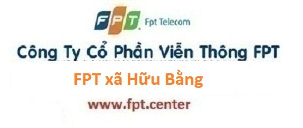 Lắp mạng cáp quang FPT xã Hữu Bằng ở Thạch Thất Hà Nội