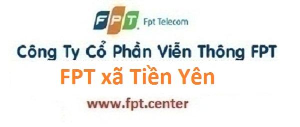 Lắp đặt internet FPT xã Tiền Yên huyện Hoài Đức Hà Nội giá tốt