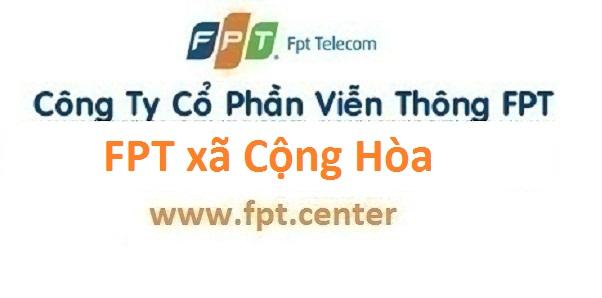Lắp đặt mạng internet FPT xã Cộng Hòa huyện Quốc Oai Hà Nội