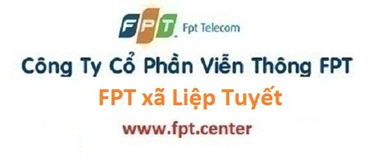 Lắp đặt internet FPT xã Liệp Tuyết huyện Quốc Oai Hà Nội siêu khuyến mãi