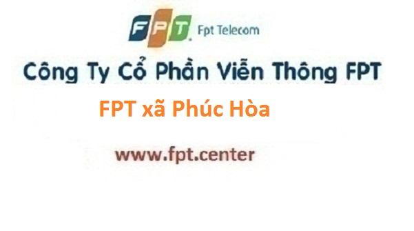 Đăng ký lắp đặt internet FPT xã Phúc Hòa huyện Phúc Thọ Hà Nội