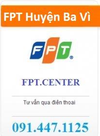 Cáp Quang FPT Huyện Ba Vì Hà Nội