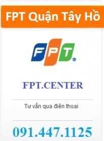 đăng ký internet FPT Quận Tây Hồ, lắp đặt internet FPT quận tây hồ thành phố hà nội cho khách hàng mới