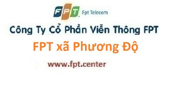 Lắp đặt mạng FPT xã Phương Độ huyện Phúc Thọ giá hấp dẫn