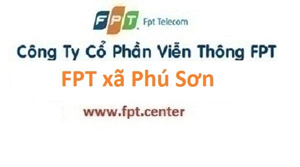 Đăng ký lắp đặt mạng FPT xã Phú Sơn tại Ba Vì Hà Nội
