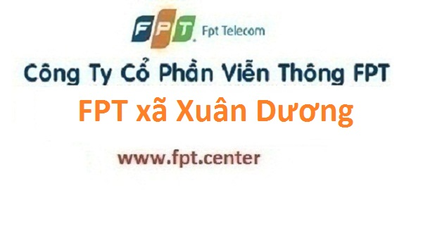 Đăng ký lắp internet truyền hình FPT xã Xuân Dương ở Thanh Oai