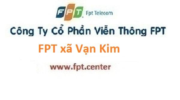 Lắp đặt mạng FPT xã Vạn Kim tại Mỹ Đức Hà Nội