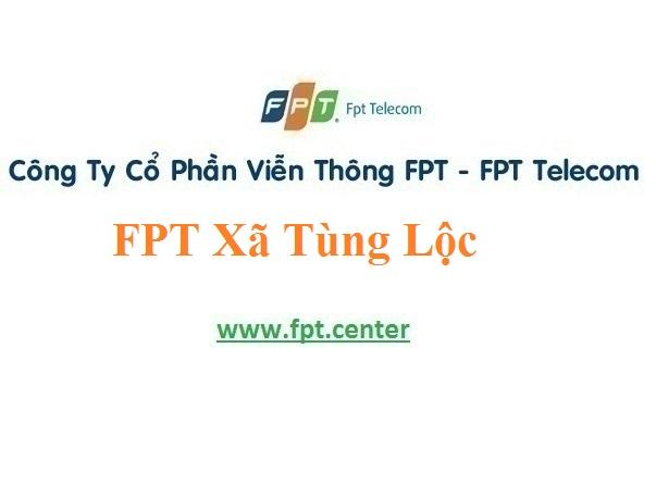 Lắp Đặt Mạng FPT Xã Tùng Lộc Ở Huyện Can Lộc Tỉnh Hà Tĩnh