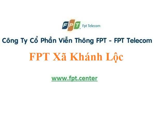 Lắp Đặt Mạng FPT Xã Khánh Lộc Ở Huyện Can Lộc Tỉnh Hà Tĩnh