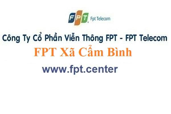 Lắp Đặt Mạng FPT Xã Cẩm Bình Ở Huyện Cẩm Xuyên Tỉnh Hà Tĩnh