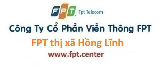 Lắp đặt internet FPT thị xã Hồng Lĩnh tại Hà Tĩnh