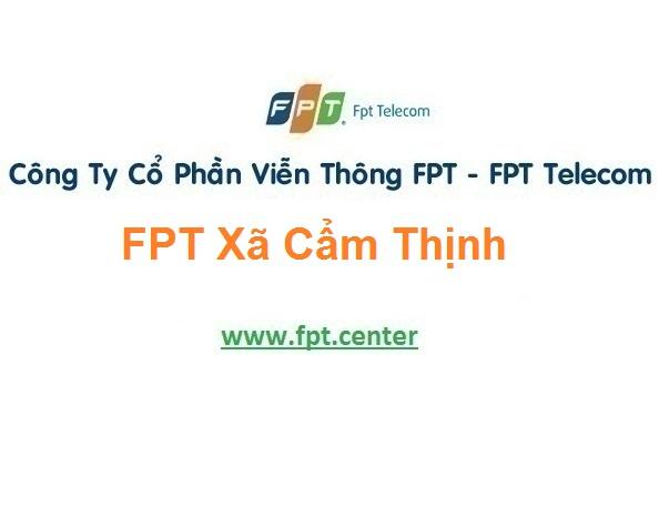 Lắp Đặt Mạng Fpt Xã Cẩm Thịnh Ở Huyện Cẩm Xuyên ở Hà Tĩnh