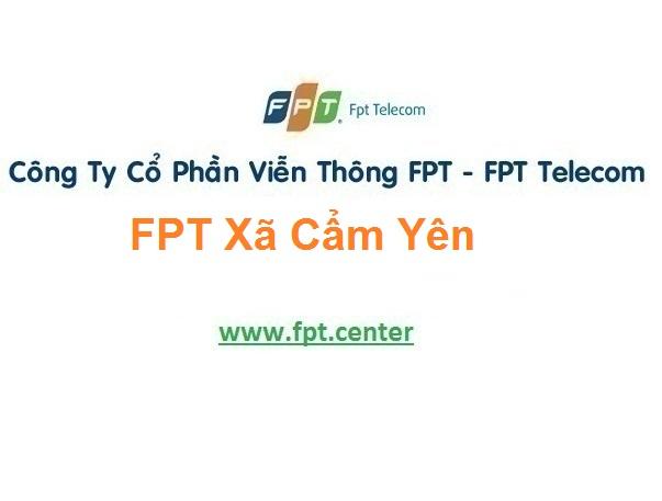 Lắp Đặt Mạng Fpt Xã Cẩm Yên Ở Cẩm Xuyên tại Hà Tĩnh