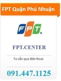 FPT Quận Phú Nhuận đang khuyến mãi đăng ký internet FPT TPHCM với các gói cước cáp quang FPT Quận Phú Nhuận hấp dẫn cho khách hàng lắp đặt mới internet FPT trên địa bàn quận Phú Nhuận