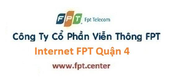 Lắp đặt internet FPT Quận 4, cáp quang FPT quận 4, lắp đặt wifi FPT quận 4, truyền hình FPT quận 4 TPHCM