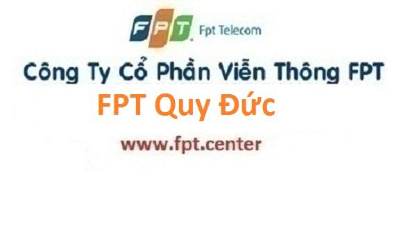Đăng ký mạng internet cáp quang FPT xã Quy Đức TPHCM