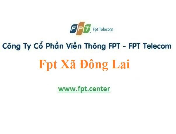 Dịch vụ lắp đặt mạng Fpt Xã Đông Lai giá rẻ và hấp dẫn