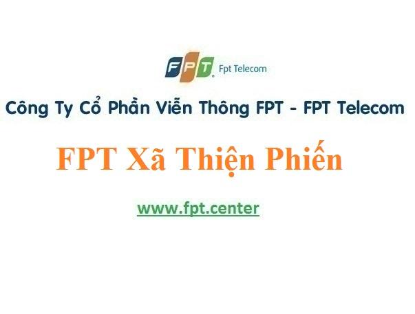Lắp Đặt Mạng FPT Xã Thiện Phiến Ở Huyện Tiên Lữ Tỉnh Hưng Yên
