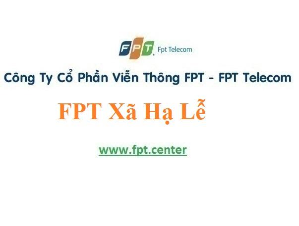 Lắp Đặt Mạng FPT Xã Hạ Lễ Tại Huyện Ân Thi Tỉnh Hưng Yên