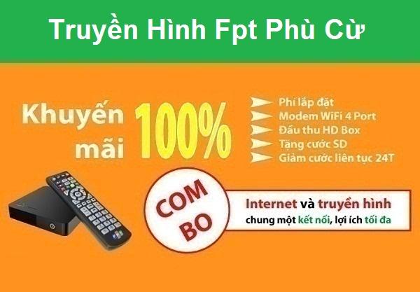 Đăng ký truyền hình fpt huyện Phù Cừ