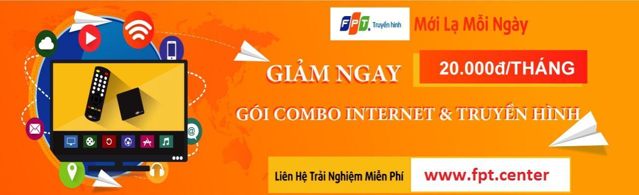 Đăng ký internet FPT huyện Bến Lức Long An cho khách hàng đăng ký mới dịch vụ internet FPT