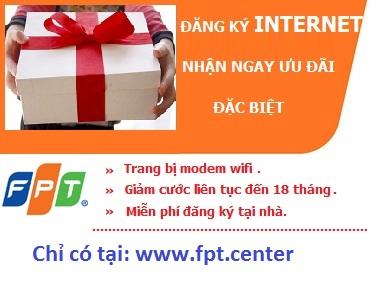 Khách hàng lắp đặt internet FPT Bến Lức siêu khuyến mãi cho khách hàng đăng ký cáp quang Bến Lức cho khách hàng