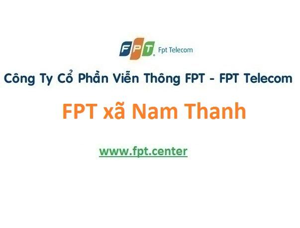 Lắp đặt mạng FPT xã Nam Thanh ở Nam Trực giá ưu đãi