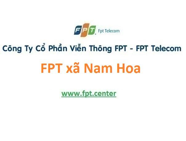 Lắp mạng internet FPT xã Nam Hoa giá khuyến mãi