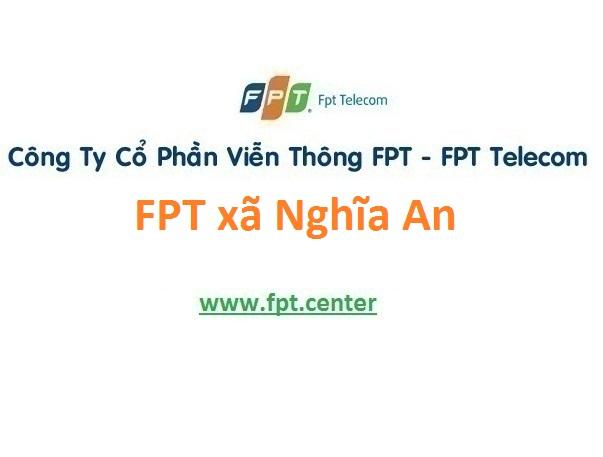 Lắp đặt mạng FPT xã Nghĩa An tại Nam Trực giá rẻ