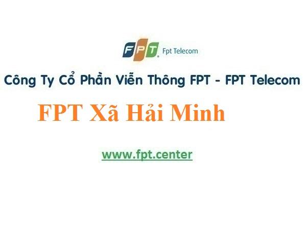 Lắp Đặt Mạng FPT Xã Hải Minh ở Huyện Hải Hậu Tỉnh Nam Định