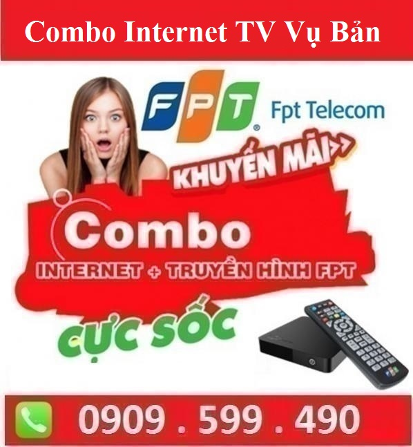 Gói Combo Internet Truyền Hình Huyện Vụ Bản Nam Định