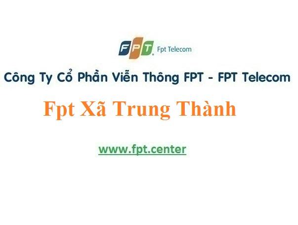 Lắp Đặt Mạng Fpt Xã Trung Thành Ở Vụ Bản tại Nam Định